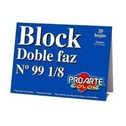 BLOCK DIBUJO N99 1/8 DOBLE...