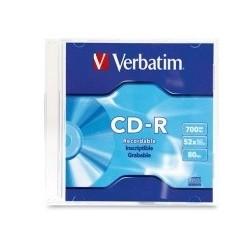 CD-R UND VERBATIM 700 MB C/...