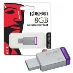 PENDRIVE 8GB KINGSTON DT50...
