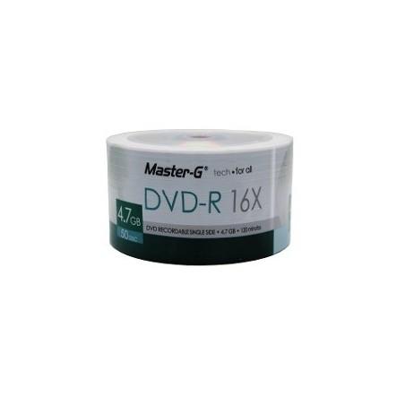 DVD-R 50 UND BULK MASTER-G...
