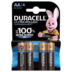 PACK 4 PILAS AA DURACELL...