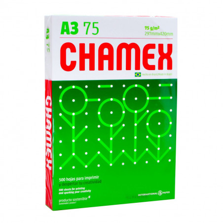 RESMA DE PAPEL A-3 CHAMEX...