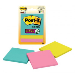 POST IT 76 X 76 654 COLOR...