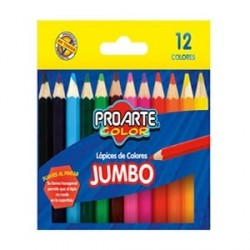 LAPICES COLOR JUMBO 12 COL...