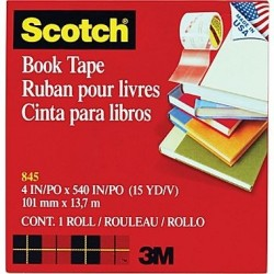 SCOTCH 3M 845 101 X 13 BOOK...