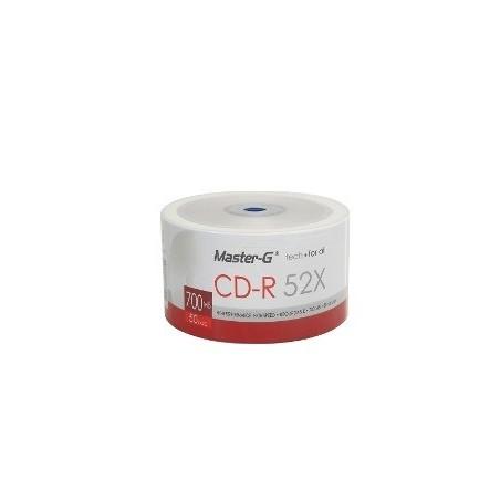 CD-R 50 UND BULK MASTER-G...
