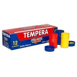 TEMPERA 12 COLORES PROARTE...